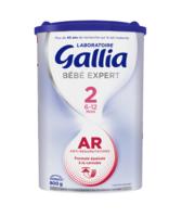 GALLIA BEBE EXPERT AR 2 Lait en poudre B/800g à VILLEMUR SUR TARN