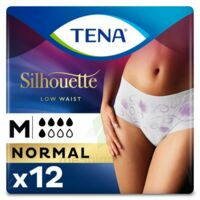 Tena Lady Silhouette Slip Absorbant Blanc Normal Médium Paquet/12 à VILLEMUR SUR TARN