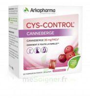 Cys-Control 36mg Poudre orale 20 Sachets/4g à VILLEMUR SUR TARN