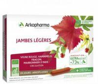 Arkofluide Bio Ultraextract Solution buvable jambes légères 20 Ampoules/10ml à VILLEMUR SUR TARN