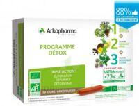 Arkofluide Bio Ultraextract Coffret Programme Détox 3x10 Ampoules/10ml à VILLEMUR SUR TARN