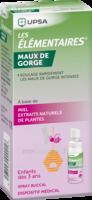 LES ELEMENTAIRES Spray buccal maux de gorge enfant Fl/20ml à VILLEMUR SUR TARN