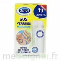 Scholl SOS Verrues traitement pieds et mains à VILLEMUR SUR TARN