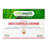 OLIOSEPTIL - Capsules Huiles essentielles à respirer - Nez dégagé à VILLEMUR SUR TARN