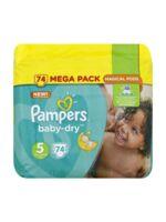 Pampers Baby Dry T5 - 11-23kg Megapack à VILLEMUR SUR TARN