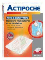 Actipoche Patch chauffant douleurs musculaires B/2 à VILLEMUR SUR TARN