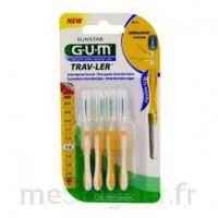 GUM TRAV - LER, 1,3 mm, manche jaune , blister 4 à VILLEMUR SUR TARN