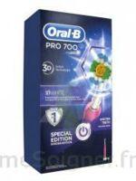 Oral B Professional Care 700 Brosse Dents White And Clean B/1 à VILLEMUR SUR TARN
