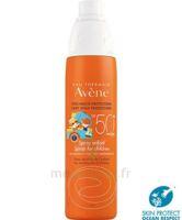 Avène Eau Thermale Solaire Spray Enfant 50+ 200ml à VILLEMUR SUR TARN