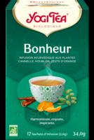 Yogi Tea Tisane Ayurvédique Bonheur Bio 17 Sachets/1,8g à VILLEMUR SUR TARN