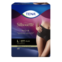 Tena Silhouette Plus Slip Absorbant Noir L Sachet/9 à VILLEMUR SUR TARN